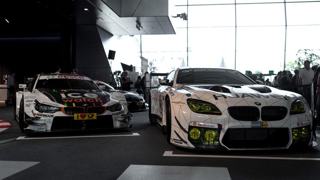 Фото спортивных автомобилей. Музей истории BMW. 100 лет баварской марке.