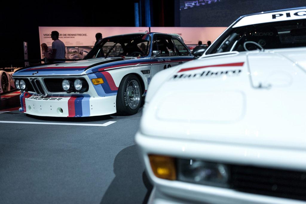 Фото выставочных ретро автомобилей. Музей истории BMW. 100 лет баварской марке.