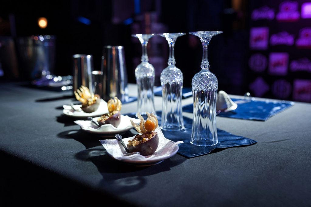Фото необходимых ингредиентов для приготовления коктейля. Чемпионат барменов в Рязани