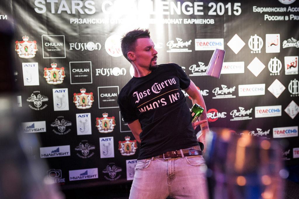 """Изображение участника. Флэйринг. Чемпионат барменов """"Bartender Stars Challenge"""""""