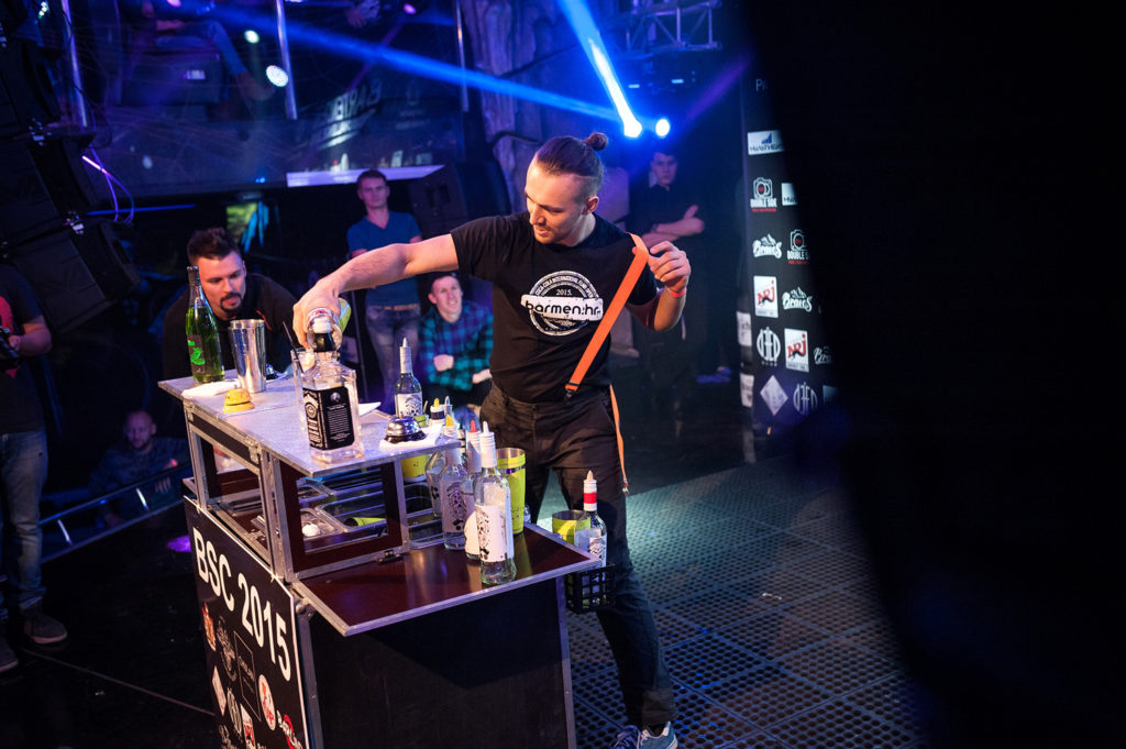 Флэйринг. Выступление бармена. Bartender Stars Challenge.