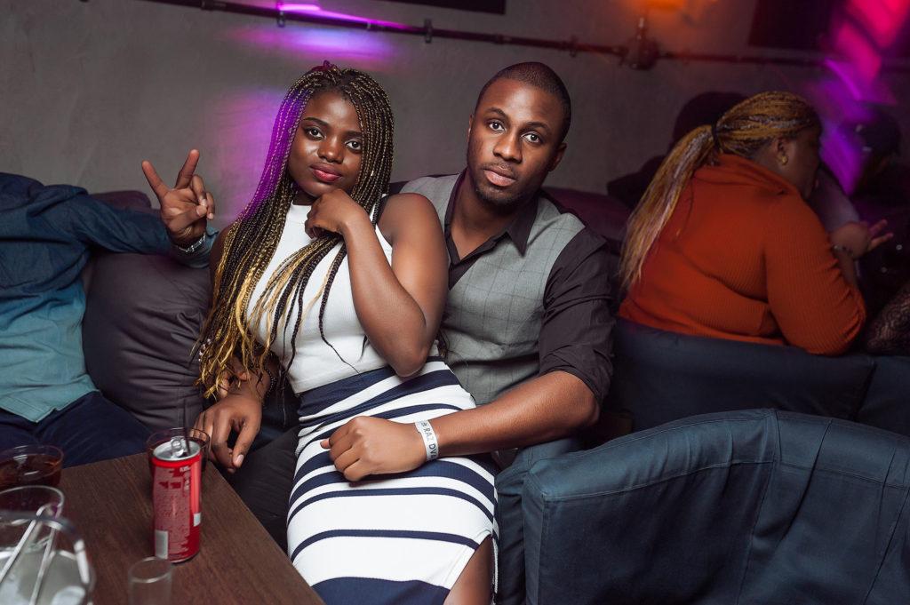 Фото в ночном клубе. Афроамериканская вечеринка. Съемка со вспышкой в Рязани