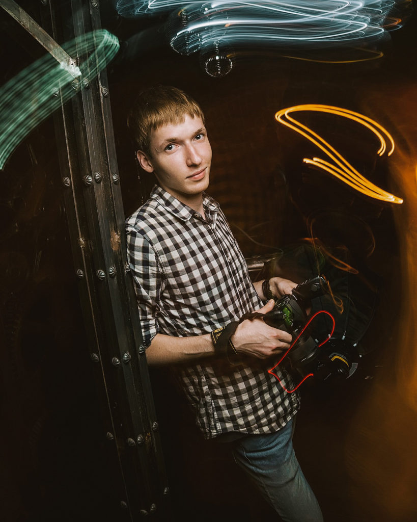 Информация обо мне. Автопортрет. Фотограф Евгений Васко.