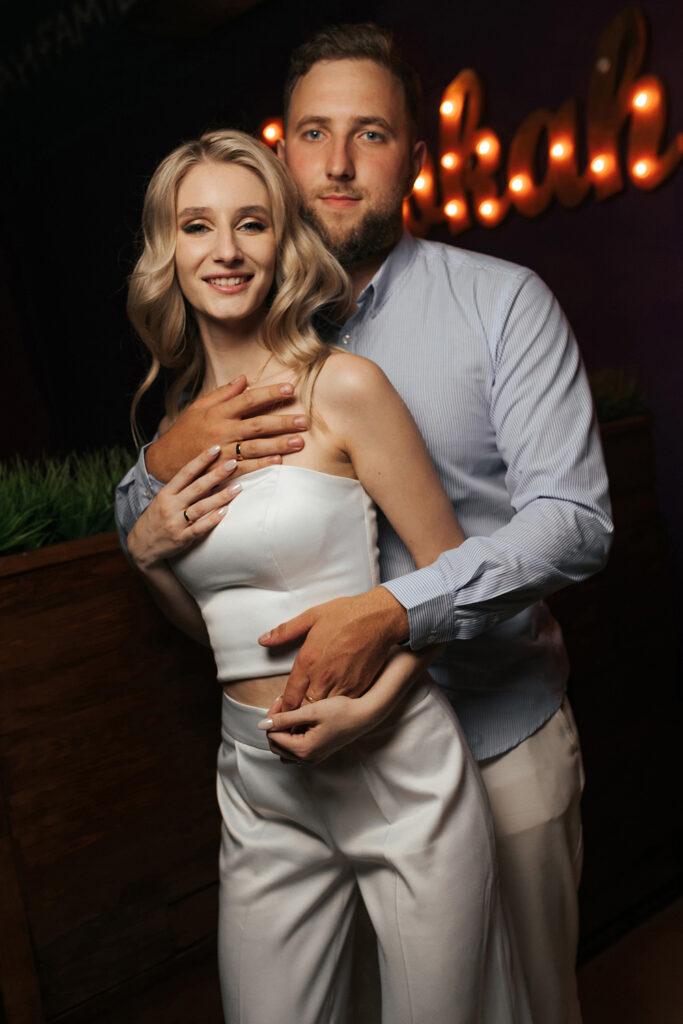Свадебный вечер Александра и Валерии. Момент радости. Свадьба в Рязани