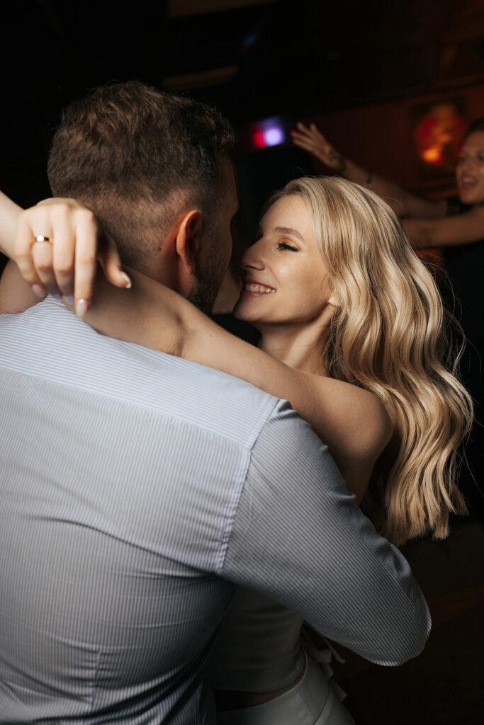 Свадебный вечер Александра и Валерии. Танец молодоженов. Свадьба в Рязани